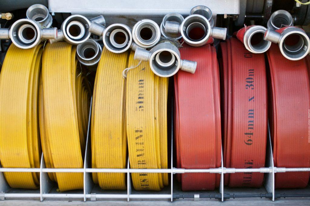 Das sind Feuerwehrschlauch Taschen und so Umweltschonend sind sie!