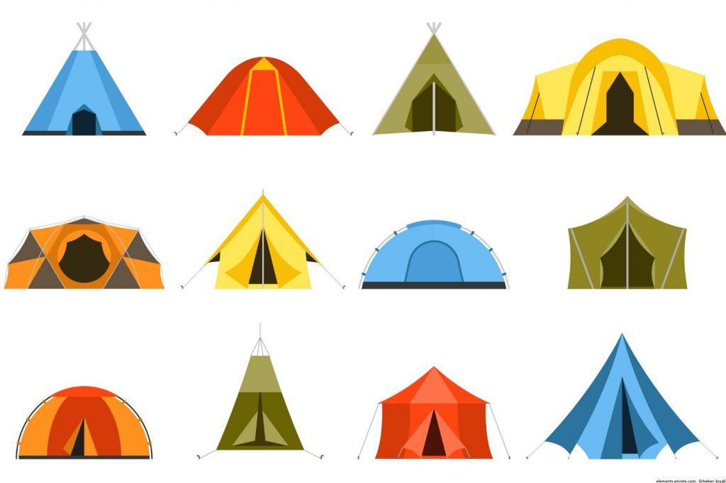 Außergewöhnliche Zelte - Wo Sie außergewöhnliche Zelte für Veranstaltungen mieten können